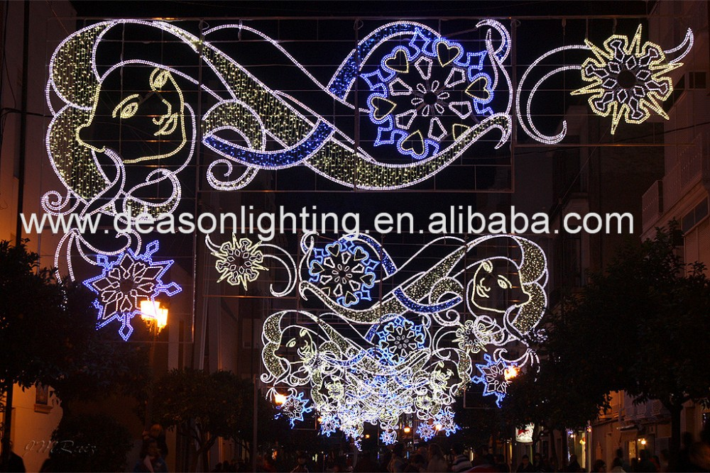 Christmas Decorations Street Lights Father Julian S Malta