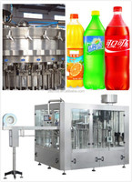 plastic bottled soft drinks filling machine line