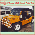mini moke for sale manufactured by skd moke assembly plant in the Caribbean region