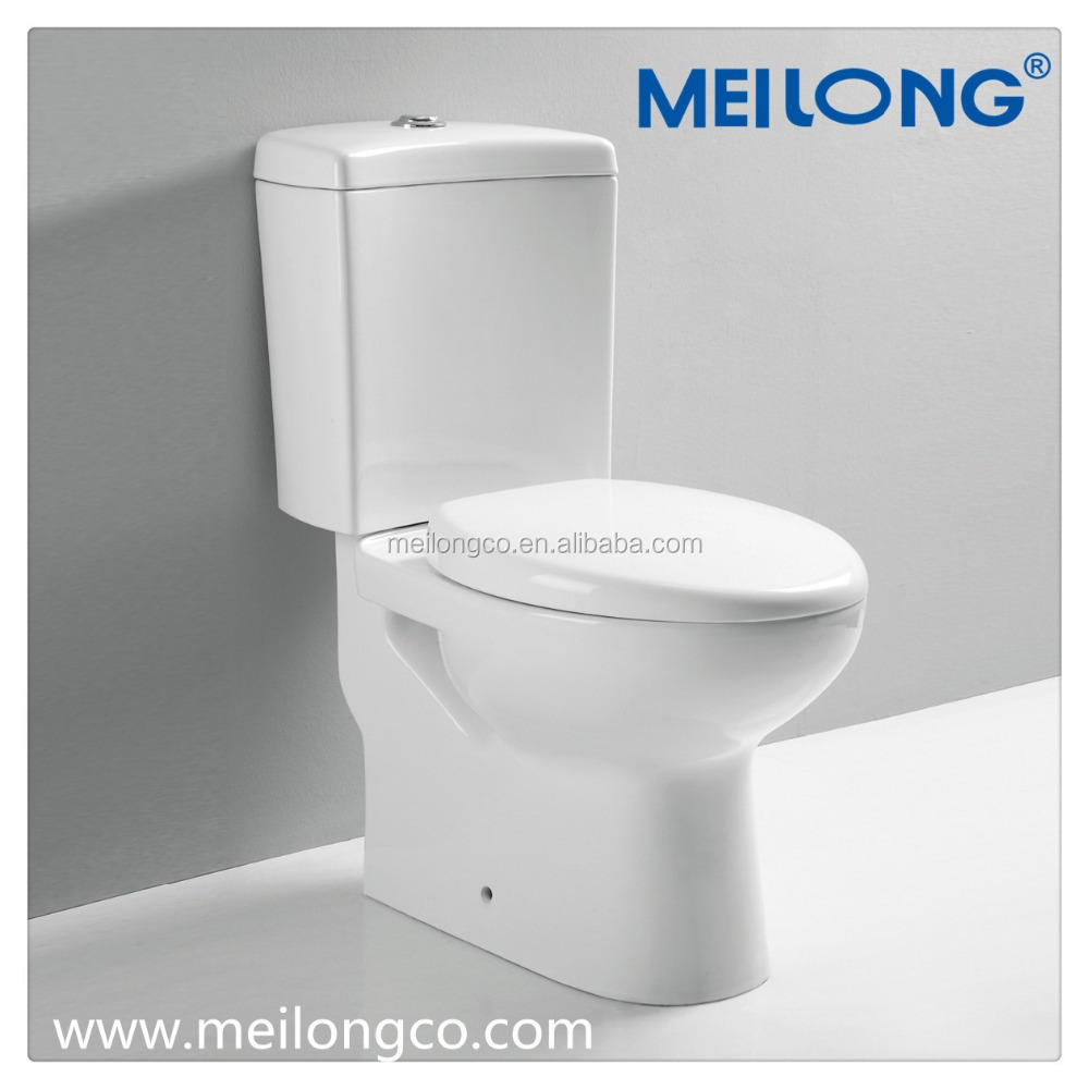 Elongated American Standard Siphonic Normal Height Round Front bathroom ceramic wc toilet White 2-Piece as china suppliers