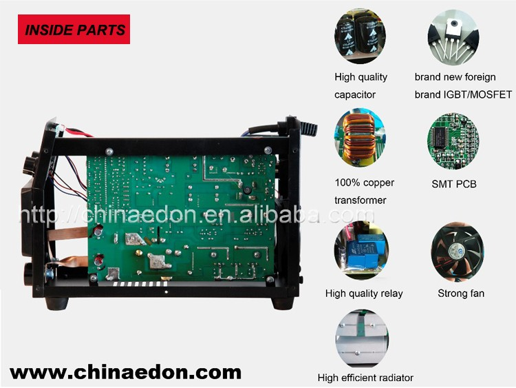 edon inverter DC MMA HOT START WELDING MACHINE arc welding machine