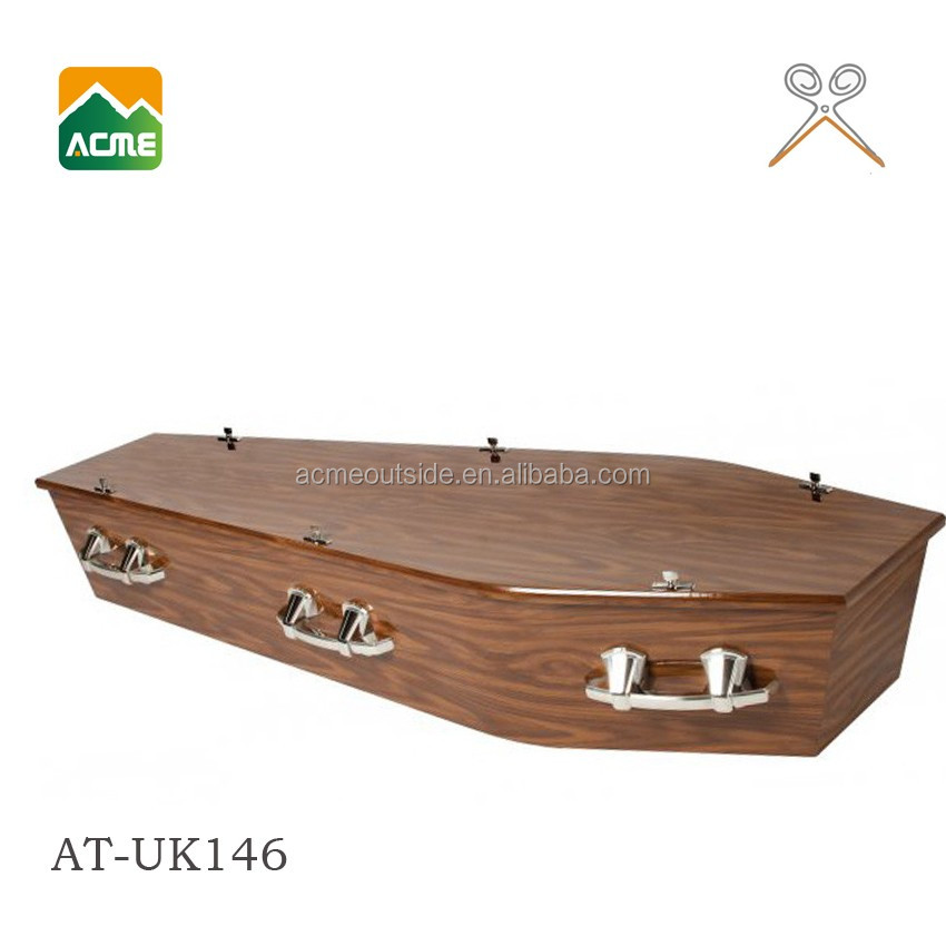AT-UK146 good quality adult china casket coffin for sale factory