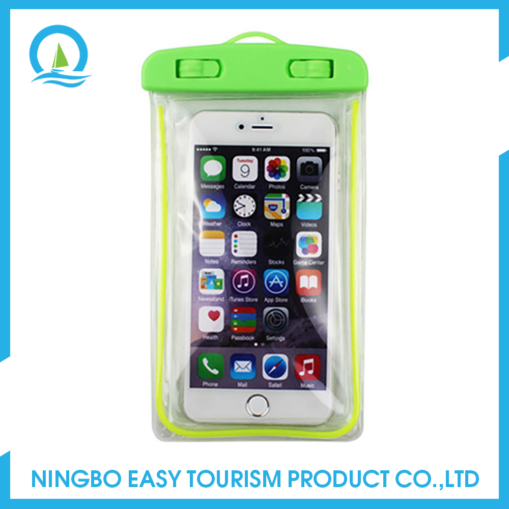 Neck Hanging Water Proof Mobile Phone Bag Cellphone Waterproof Bag