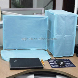 Nonwoven Fabric for 22 LCD Computer Host/Monitor/Keyboard Blue dust cover