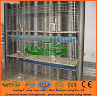 portable rabbit cage with the cage frame