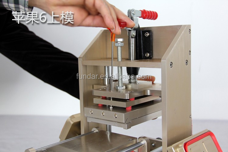 5 in 1 vacuum lcd separator machine for iphone6/6plus frame laminator, lcd glue remover for samsung