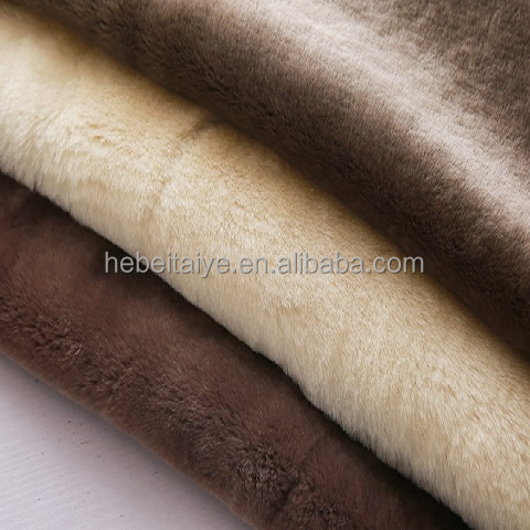 tanned thin straight wool colorful mouton Australian lamb skin