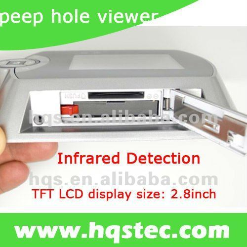 Infrared Detection Peep hole Viewer with 2.8inch LCD
