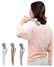 Elegant woman stand shape massager wand for use anytime