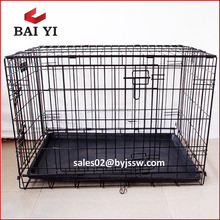 "BAIYI 24"", 30"", 36"", 42"", 48"" Dog Kennel Cage For Sale Cheap Factory Direct"