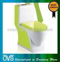 best selling washdown green colored toilets Item:A3002C