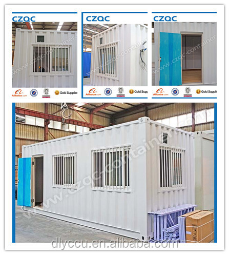 whole sale 20ft container office container house for sale