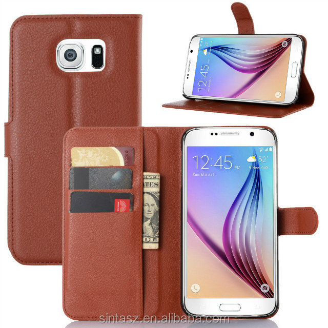 High Quality Leahter Mobile phone covers for Samsung Galaxy s7 edge, Crazy horse leather back cover case