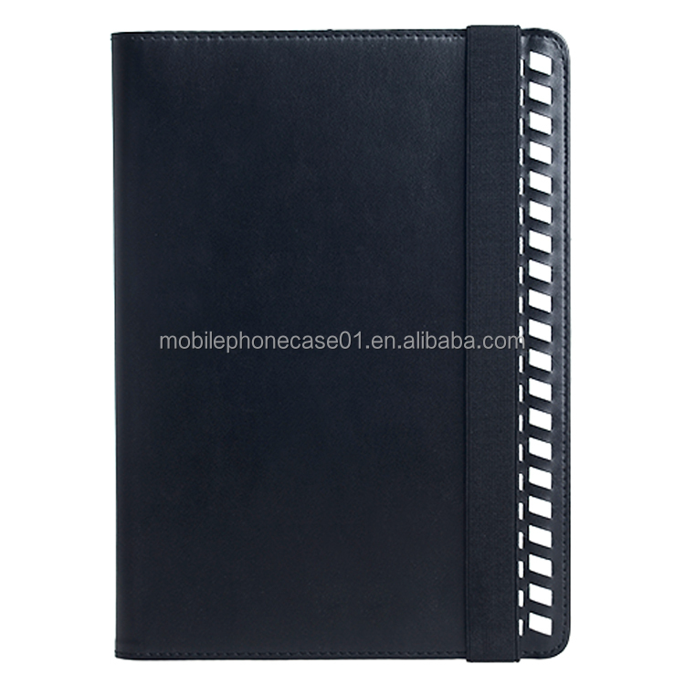 Luxury Pu Leather Book Style Flip Cover Insert Card Holder case for iPad Air 2