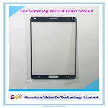 OEM Glass Touch Screen For Samsung Galaxy Note 4 Outer Glass Lens , Glass Screen For Samsung Note 4 Front Outer