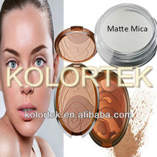 Pure Matte Mica Powder For Mineral Makeup Foundations