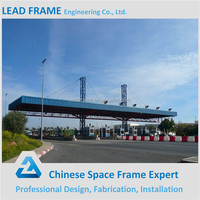 Mild steel frame types of steel trusses tolls station