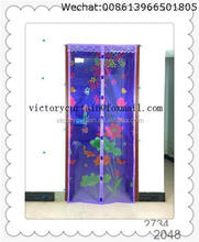 Shengli new designed fly screen repair automatically closing magnetic door