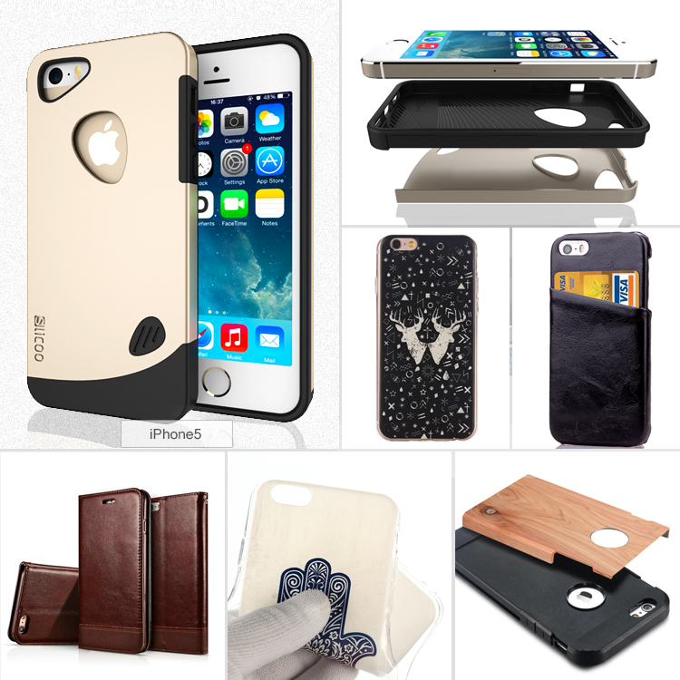 High Quality Mobile Phone Housing Cover Cases for iPhone AC