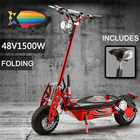 lead acid battery electric scooter 48v 1500w