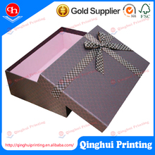 Custom Bow Tie Small Product Food Chocolate Gift Lingerie Paper Cardboard Packaging Box Gift Box For Wholesale Customized Print