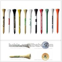 biodegradable PLA material plastic golf tee--- 100% compostable eco-friendly