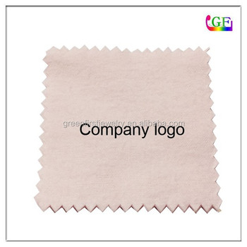 Custom logo jewelry cleaning cloth