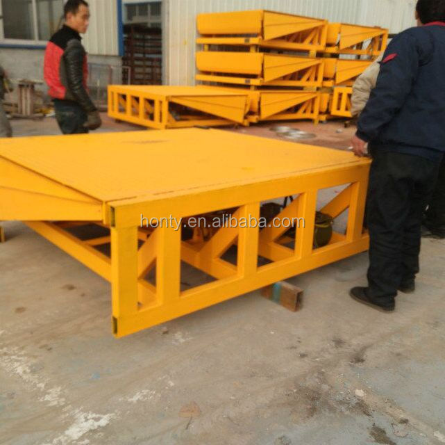 Good quality!! Competitive price hydraulic Stationary portable loading dock leveler