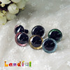 20mm Glitter Color Big Animal Eyes Safety Puppet Toy Sparkle Eyes