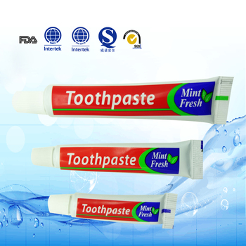 teeth whitening 5gram menthol toothpaste travel size toothpaste