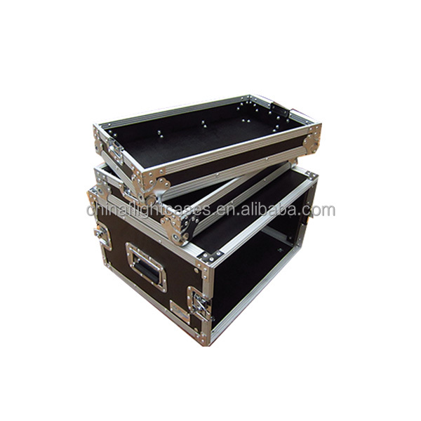 6U Amplifier Rack Case Portable Road Flight Case for Sale