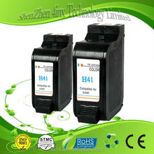 hot sale refilled empty cartridge for hp h41,remanufactured ink cartridge,print ink cartridge for H41