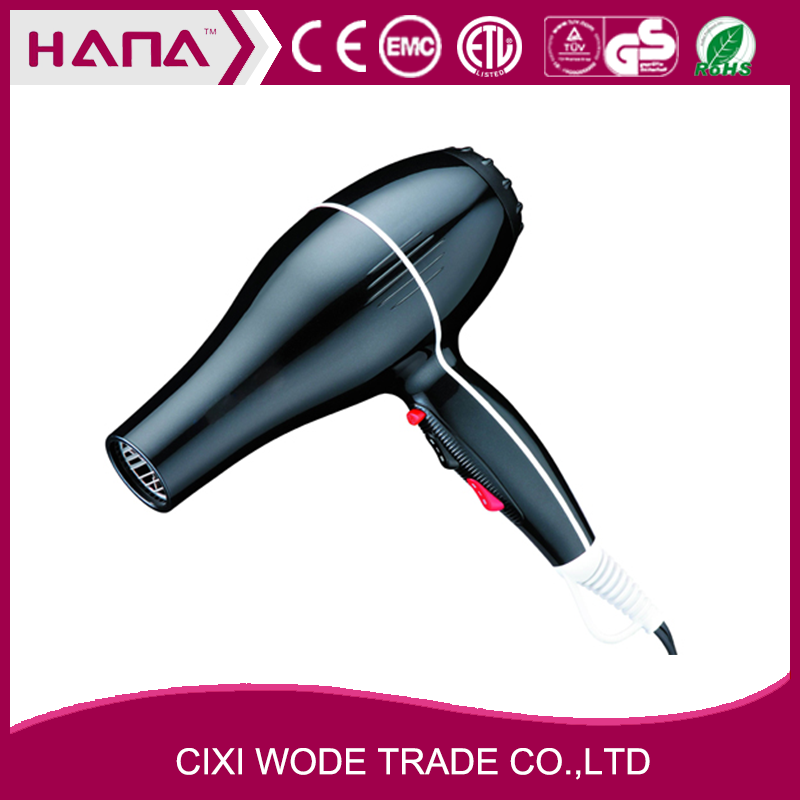 Professional AC motor 1875W Detachable filter Ionic Tourmaline hair dryers