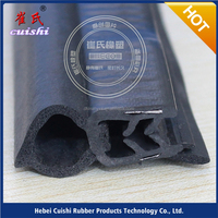 steel insulated foam slat car spare parts Extruded rubber strip for engine automobiles