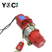 High quality small wire rope electric hoist lifting cranes
