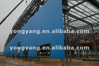 steel frame structure building