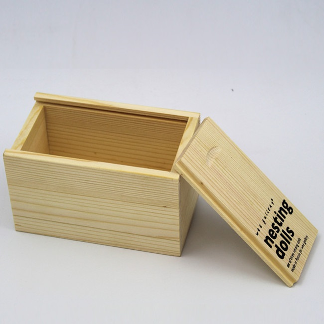 Wholesale Wooden Snack Container Snack Storage Packing Box