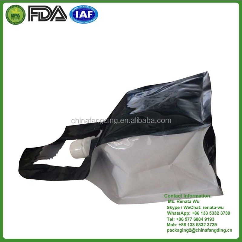 flat bottom pouch food
