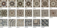 All kinds of cheap rustic tile, 3D floor tile, flower tile
