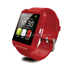 2015 hot sale 1.5 inch bluetooth smartwatch u8