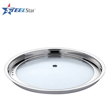 Factory manufacturing stainless cookware parts cooking pot lid