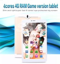 8 inch Android 4.4 OS MTK6582 Quad core 3G WIFI 3D Tablet PC
