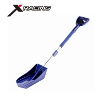 Best Selling Portable Telescopic 3 in 1 Aluminum Handle Car Snow Scoop Snow Shovel