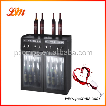 Wine Dispenser With Nitrogen Rechargeable Catridge