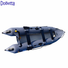 14.1ft military Inflatable Boat Inflatable Kayak 2 persons Canoe Fishing Inflatable poonton Boat