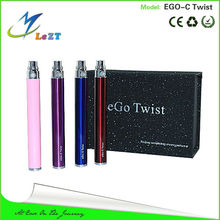 popular variable voltage mod e vaporizer ego c twist with battery capacity 650mah 900mah 1100 mah huge best ltd china wholesale