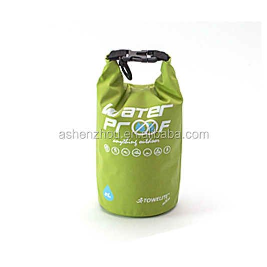 Top sell custom sports waterproof dry bag roll top dry compression sack keeps gear dry for beach, kayaking, diving, rafting, boa