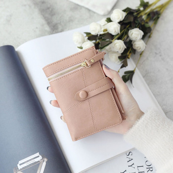 Wholesale Fashion Gift Wallet Vintage Large Capacity Women Wallet Ladies PU Leather Purse