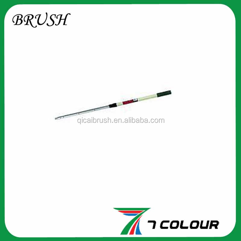 powder spraying steel telescopic rod and extension poles,aluminum telescopic extension pole,extension rod