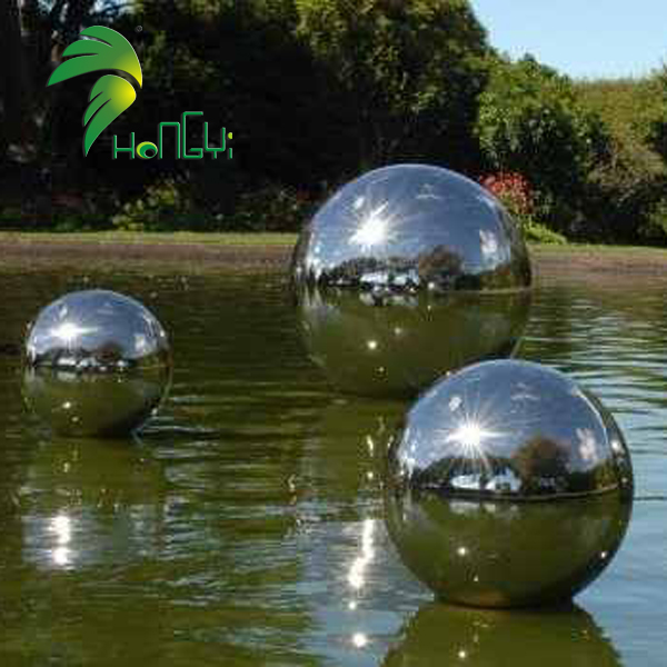 Hongyi Toys Inflatable Mirror Balloon Inflatable Silver Mirror Balloon For Decoration